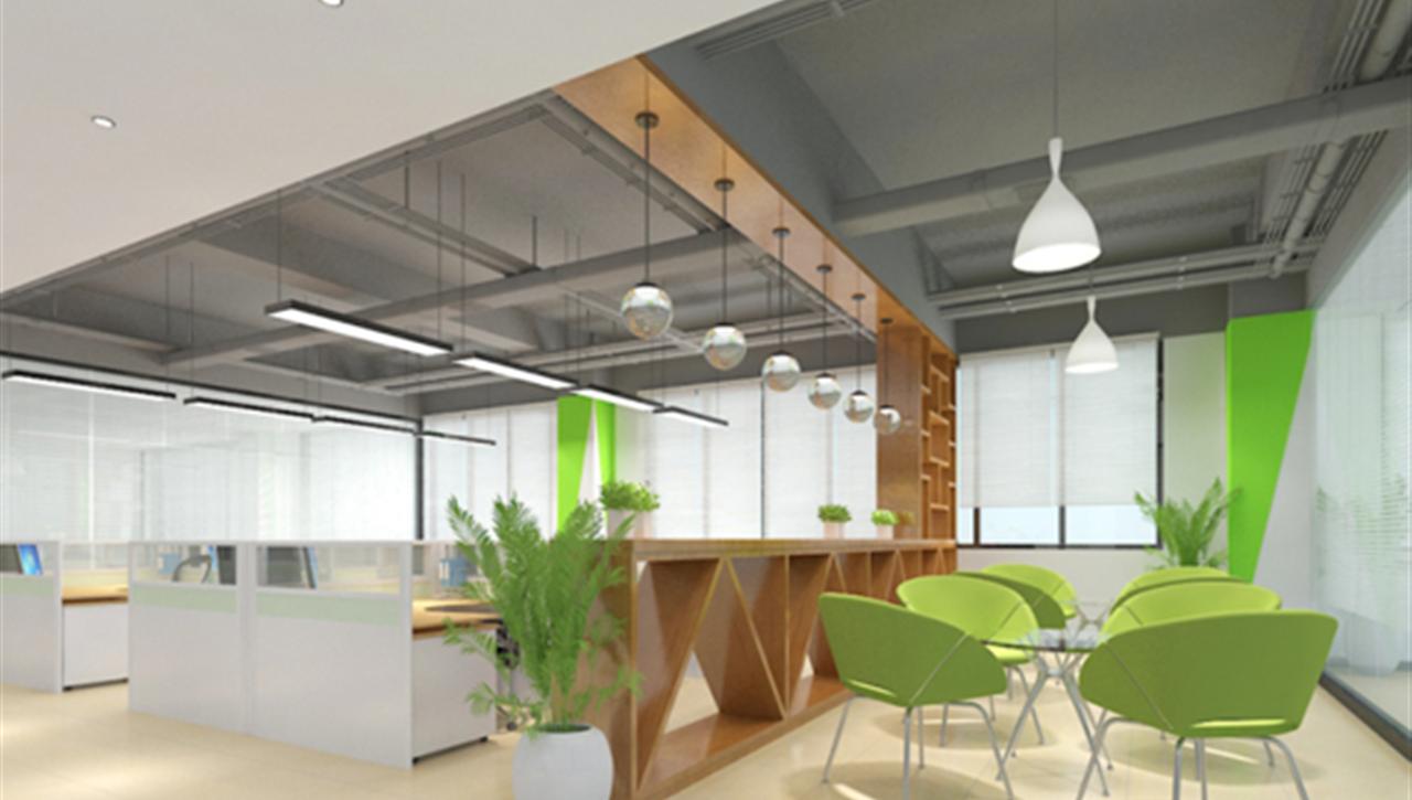 亚太国展--办公室设计施工