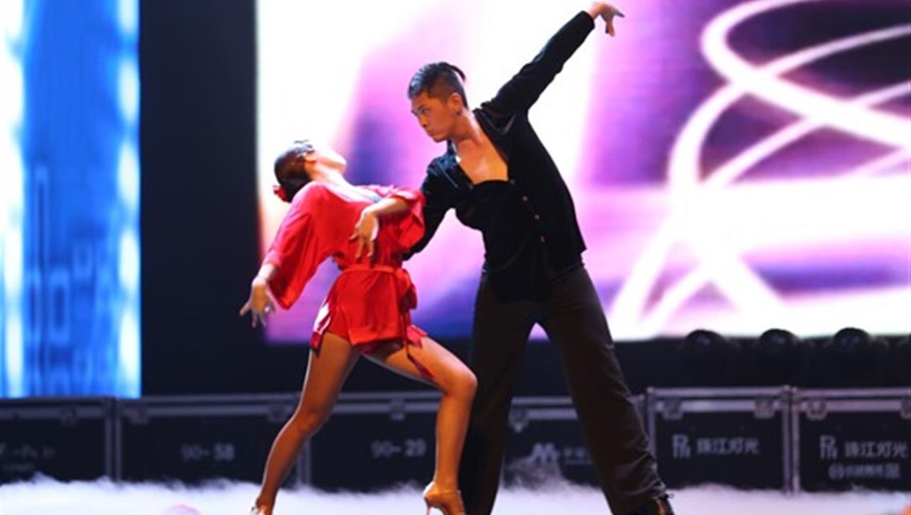 亚太国展--拉丁舞表演