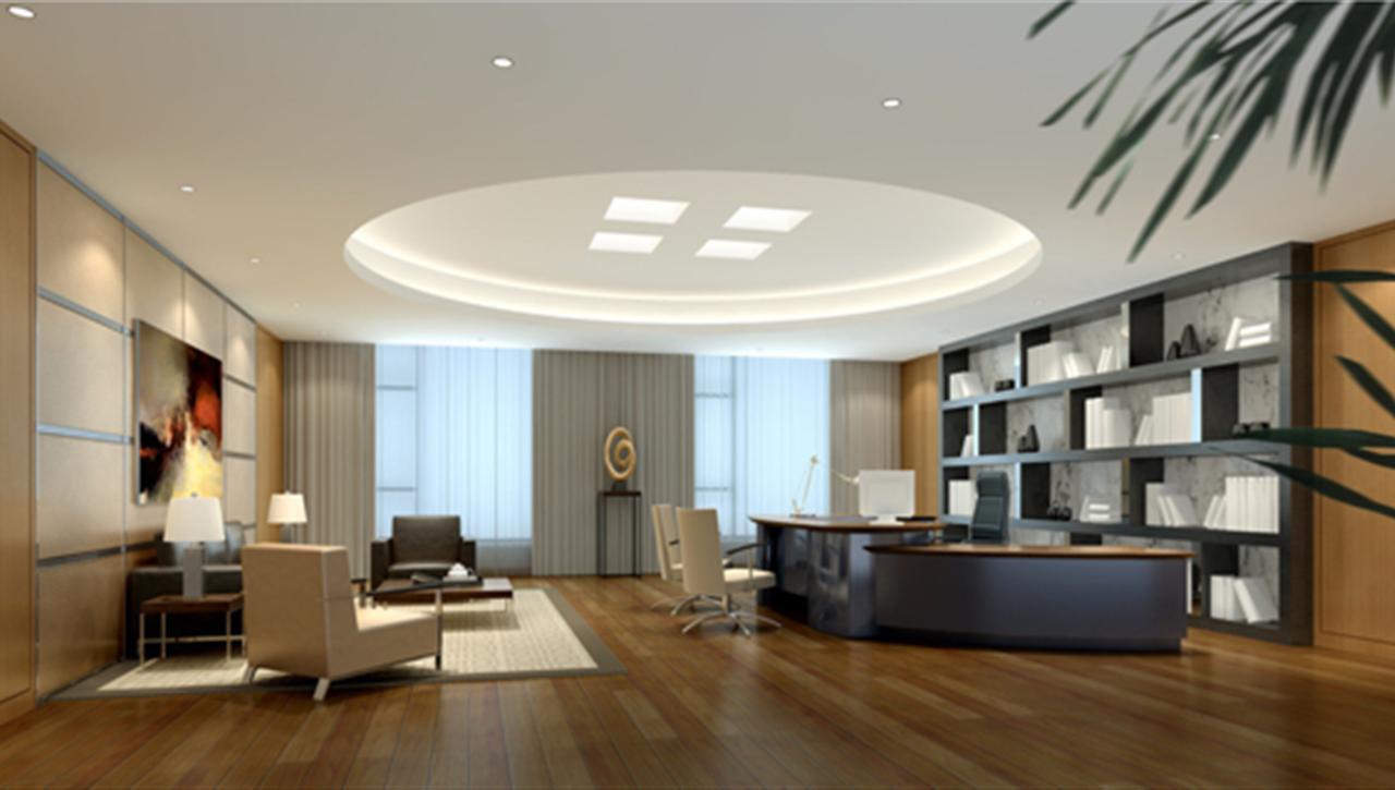 亚太国展--力德办公室设计施工