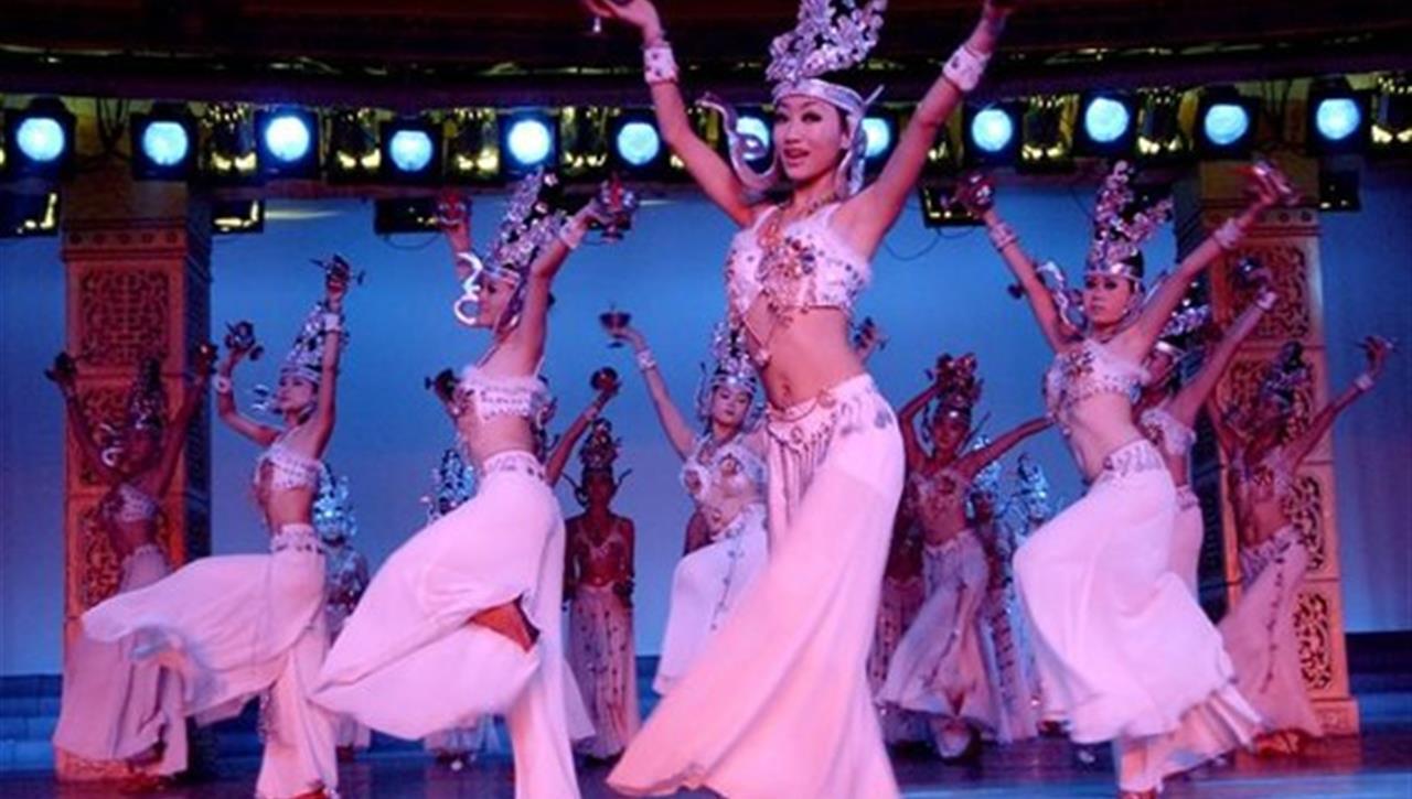 亚太国展--肚皮舞表演