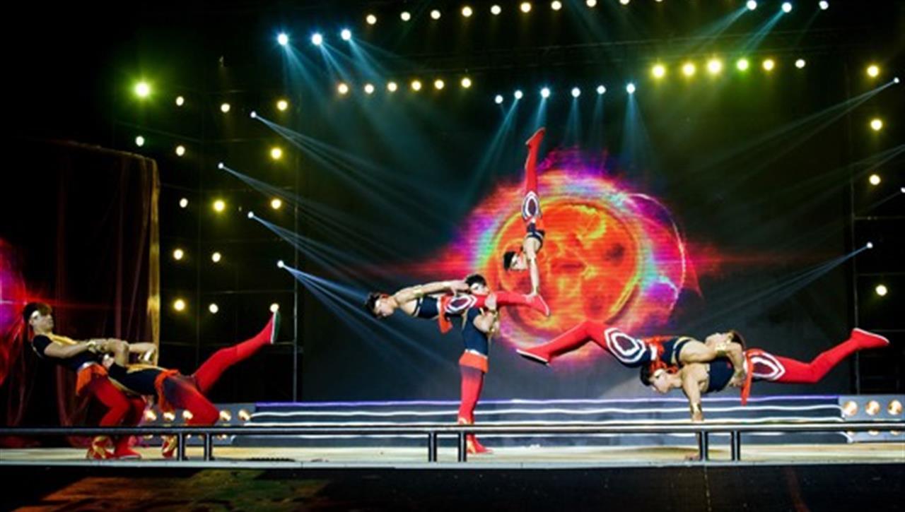 亚太国展--力量表演