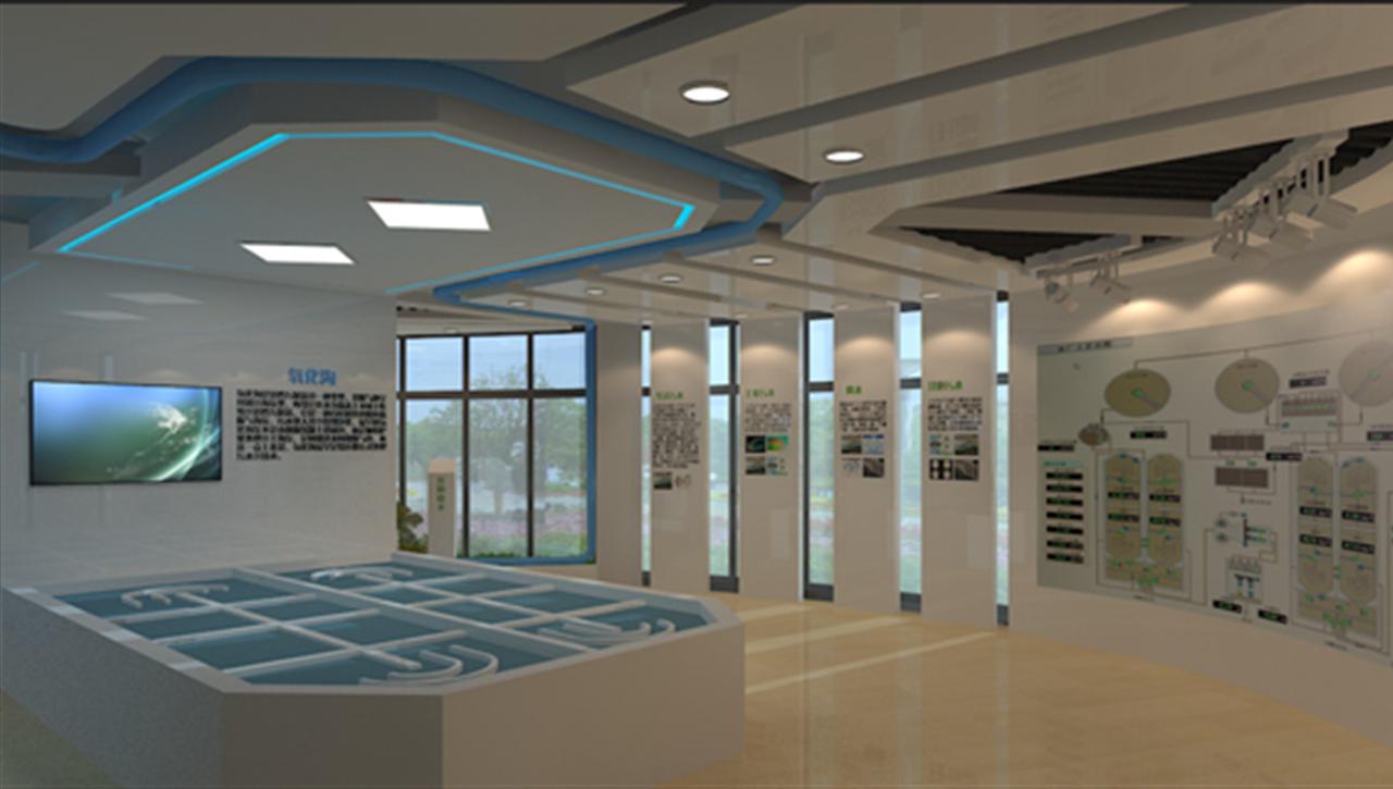 亚太国展--杭州水务公司展厅设计施工
