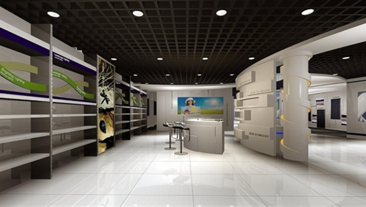 亚太国展--日升展厅设计施工