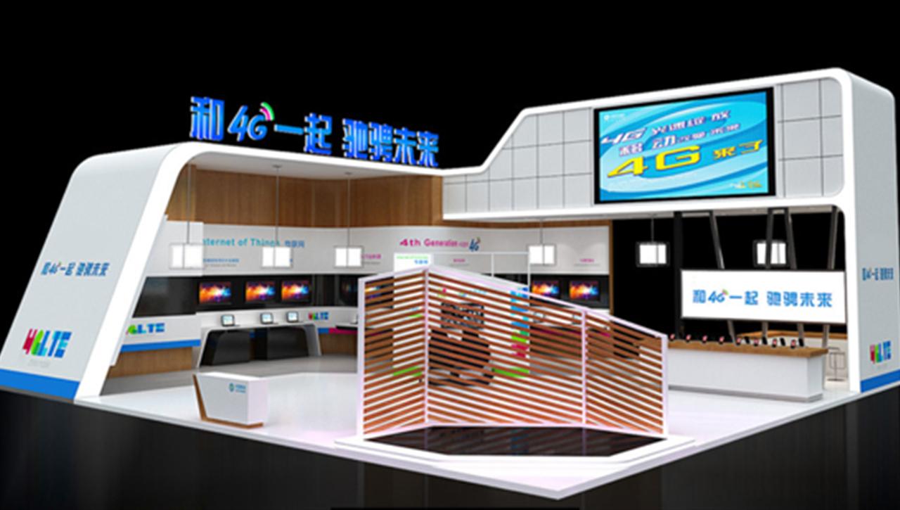 亚太国展--中国移动展台设计搭建
