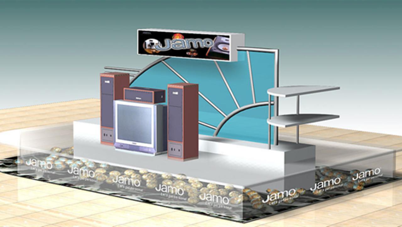 亚太国展--JAMO专柜设计施工