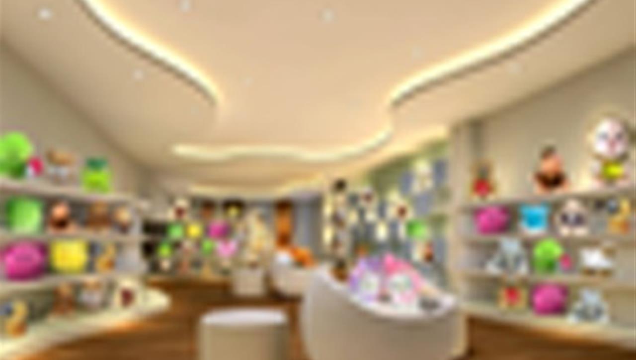 中外联合--优米玩具专卖店设计施工
