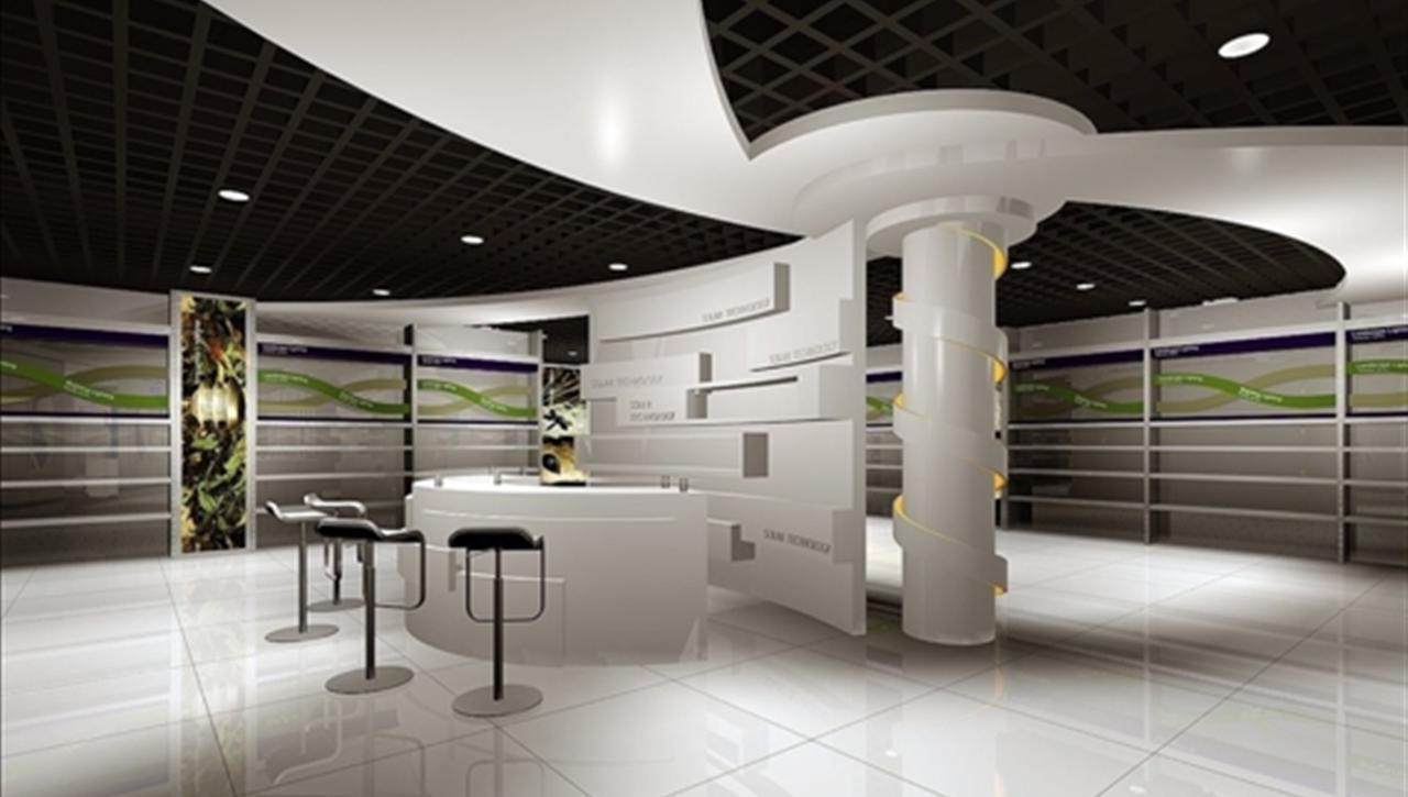 中外联合--日升展厅设计施工